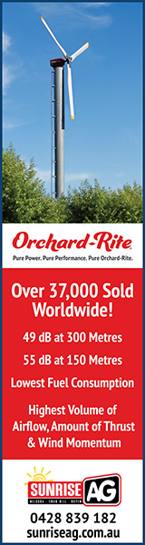 Orchard-Rite frost fans