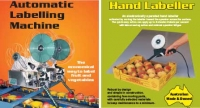Automatic labelling machines & electronic hand labellers