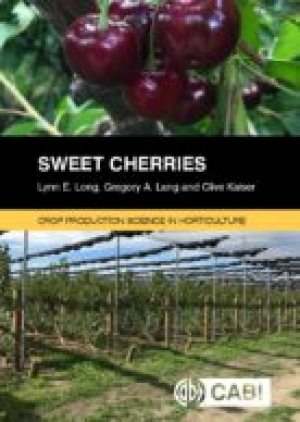 New book from USA about growing cherries