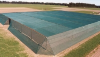 Premium netting protects crops