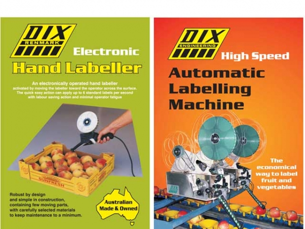 Electronic hand labellers & automatic labelling machines